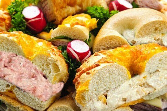 Bagel Platter Chicken