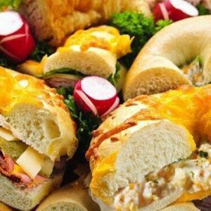 Bagel Platter Mixture of Meat and Vegetarian