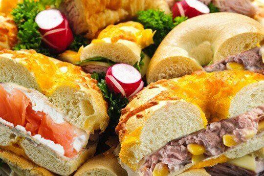 Bagel Platter Seafood