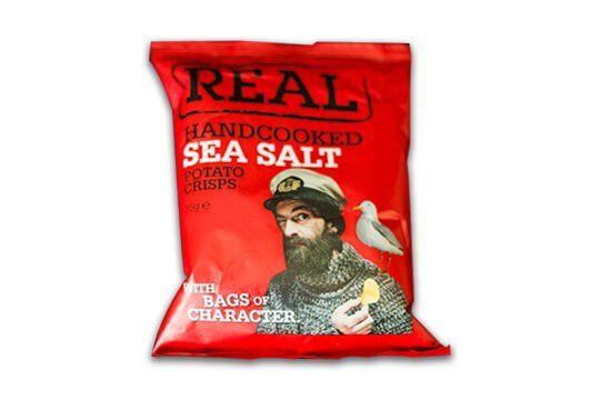 Real Handcooked Sea Salt
