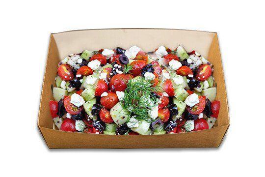 Greek salad sharing platter