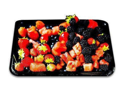 Seasonal fruit salad platter