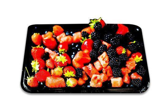 Seasonal fruit salad platter