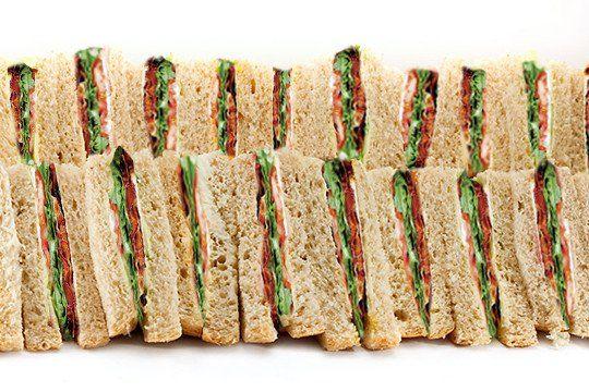 Sandwich platter B.L.T