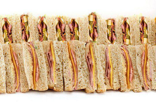 Sandwich platter meat
