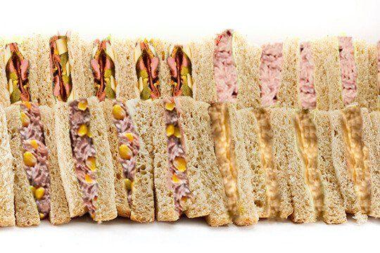 Sandwich platter mixture
