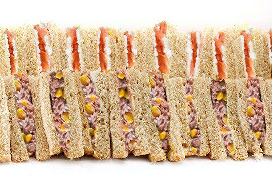 Sandwich platter seafood