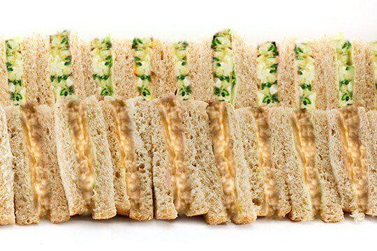 Sandwich platter vegetarian