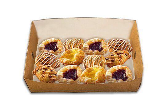 Danish pastry platter